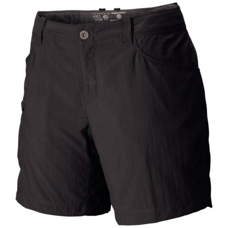 Mountain Hardwear Ramesa V2 Shorts - UPF 50 (For Women) in Black