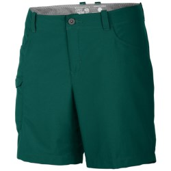 Mountain Hardwear Ramesa V2 Shorts - UPF 50 (For Women) in Bluegrass