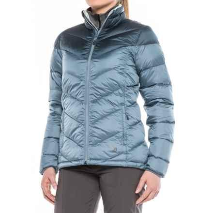 Mountain Hardwear Ratio Down Jacket - 650 Fill Power (For Women) in Mountain/Zinc - Closeouts