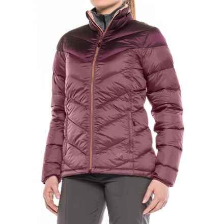 Mountain Hardwear Ratio Down Jacket - 650 Fill Power (For Women) in Purple Plum/Marionberry - Closeouts