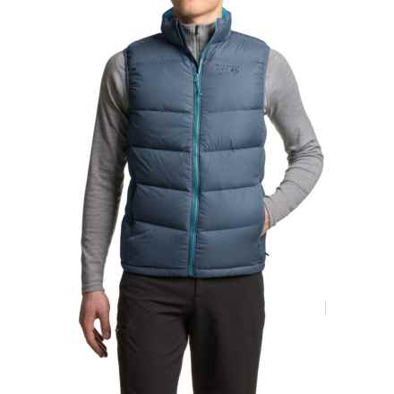 Mountain Hardwear Ratio Down Vest - 650 Fill Power (For Men) in Hardwear Navy - Closeouts