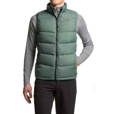 Mountain Hardwear Ratio Down Vest - 650 Fill Power (For Men) in Thunderhead Grey - Closeouts