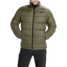 Mountain Hardwear Ratio Q.Shield® Down Jacket - 650 Fill Power (For Men) in Stone Green/Black - Closeouts