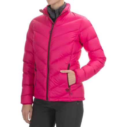 Mountain Hardwear Ratio Q.Shield® Down Jacket - 650 Fill Power (For Women) in Bright Rose - Closeouts