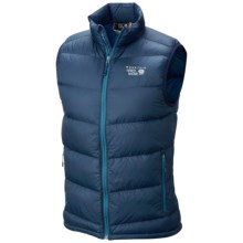 Mountain Hardwear Ratio Q.Shield® Down Vest - 650 Fill Power (For Men) in Hardwear Navy - Closeouts