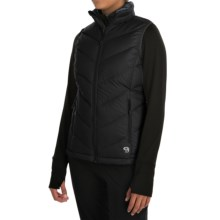 Mountain Hardwear Ratio Q.Shield® Down Vest - 650 Fill Power (For Women) in Black - Closeouts