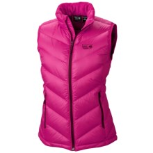 Mountain Hardwear Ratio Q.Shield® Down Vest - 650 Fill Power (For Women) in Bright Rose - Closeouts
