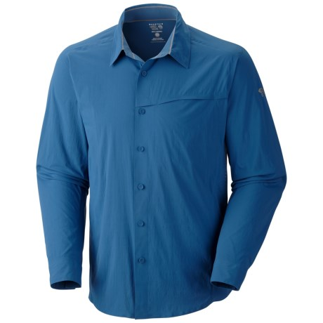 Mountain Hardwear Ravine Supreme Shirt - UPF 25, Long Sleeve (For Men) in Shark