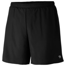 Mountain Hardwear Refueler Shorts - UPF 30 (For Men) in Black - Closeouts