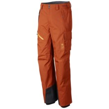 Mountain Hardwear Returnia Dry.Q® Core Cargo Pants - Waterproof (For Men) in Dark Adobe - Closeouts