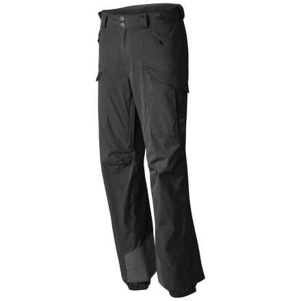 Mountain Hardwear Returnia Dry.Q® Core Cargo Ski Pants - Waterproof (For Men) in Black - Closeouts