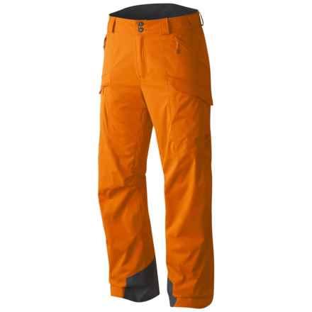 Mountain Hardwear Returnia Dry.Q® Core Cargo Ski Pants - Waterproof (For Men) in Orange Copper - Closeouts
