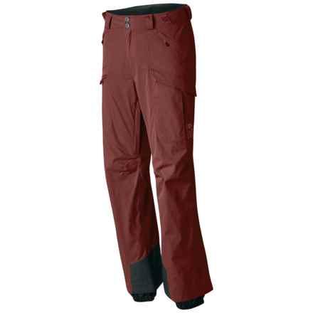 Mountain Hardwear Returnia Dry.Q® Core Cargo Ski Pants - Waterproof (For Men) in Redwood - Closeouts