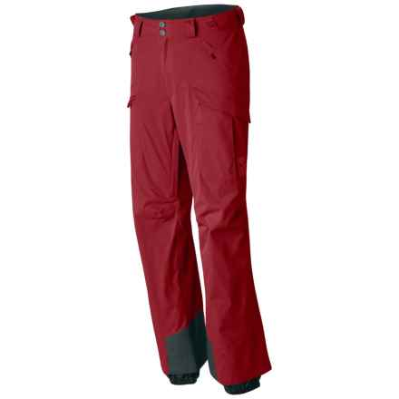 Mountain Hardwear Returnia Dry.Q® Core Cargo Ski Pants - Waterproof (For Men) in Smolder Red - Closeouts