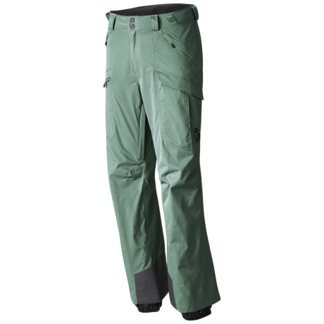 Mountain Hardwear Returnia Dry.Q® Core Cargo Ski Pants - Waterproof (For Men) in Thunderhead Grey