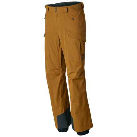 Mountain Hardwear Returnia Dry.Q® Core Cargo Ski Pants - Waterproof (For Men) in Underbrush - Closeouts