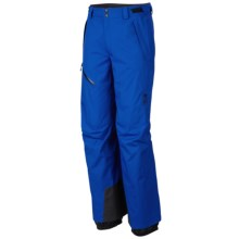 Mountain Hardwear Returnia Dry.Q® Core Pants - Waterproof (For Men) in Azul - Closeouts