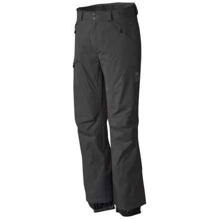 Mountain Hardwear Returnia Dry.Q® Core Ski Pants - Waterproof (For Men) in Black - Closeouts