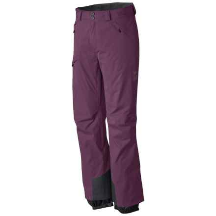 Mountain Hardwear Returnia Dry.Q® Core Ski Pants - Waterproof (For Men) in Eggplant - Closeouts