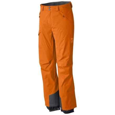 Mountain Hardwear Returnia Dry.Q® Core Ski Pants - Waterproof (For Men) in Orange Copper - Closeouts