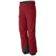 Mountain Hardwear Returnia Dry.Q® Core Ski Pants - Waterproof (For Men) in Smolder Red - Closeouts