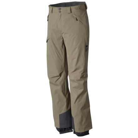 Mountain Hardwear Returnia Dry.Q® Core Ski Pants - Waterproof (For Men) in Stone Green - Closeouts