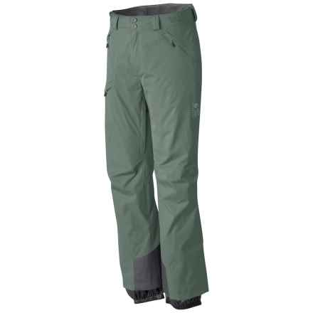 Mountain Hardwear Returnia Dry.Q® Core Ski Pants - Waterproof (For Men) in Thunderhead Grey - Closeouts