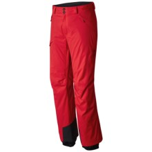Mountain Hardwear Returnia Dry.Q® Core Ski Pants - Waterproof, Insulated (For Men) in Cherrybomb - Closeouts