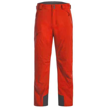 Mountain Hardwear Returnia Dry.Q® Core Ski Pants - Waterproof, Insulated (For Men) in Fiery Red - Closeouts