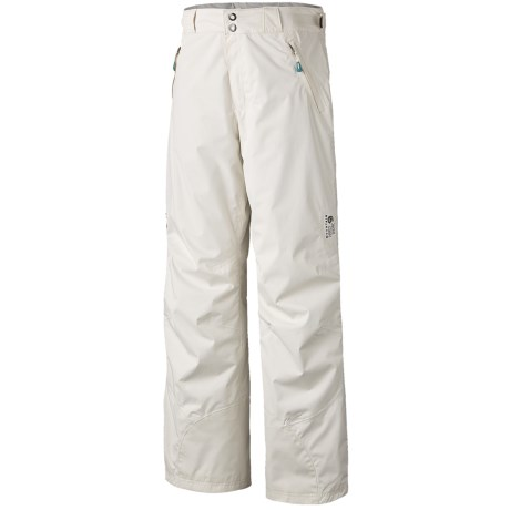 Mountain Hardwear Returnia Dry.Q® Core Snow Pants - Waterproof (For Women) in Hot Rod
