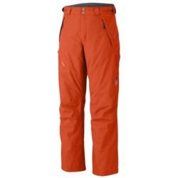 Mountain Hardwear Returnia Dry.Q® Core Snow Pants - Waterproof, Insulated (For Men) in Autumn Orange