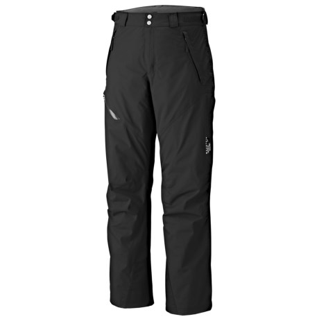 Mountain Hardwear Returnia Dry.Q Core Snow Pants - Waterproof, Insulated (For Men) in Autumn Orange
