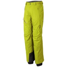 Mountain Hardwear Returnia Dry.Q® Core Snow Pants - Waterproof, Insulated (For Men) in Python Green - Closeouts