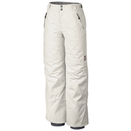 Mountain Hardwear Returnia Dry.Q Core Snowsport Pants - Waterproof, Insulated (For Women) in Sea Salt
