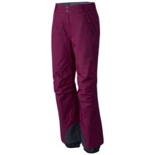 Mountain Hardwear Returnia Dry.Q® Ski Pants - Waterproof, Insulated (For Women) in Dark Raspberry - Closeouts
