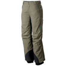 Mountain Hardwear Returnia Dry.Q® Ski Pants - Waterproof, Insulated (For Women) in Stone Green - Closeouts