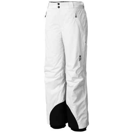 Mountain Hardwear Returnia Dry.Q® Ski Pants - Waterproof, Insulated (For Women) in White - Closeouts
