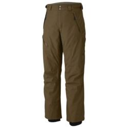 Mountain Hardwear Returnia Snow Pants - Waterproof (For Men) in Duffel