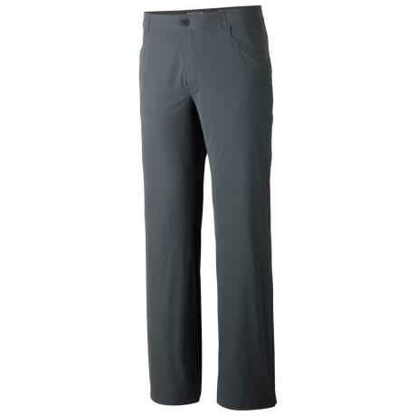 Mountain Hardwear Rifugio Supreme Pants - UPF 50 (For Men) in Graphite