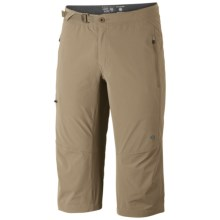 Mountain Hardwear Rifugio Trek 3/4 Pants - UPF 50, Capri Length (For Men)