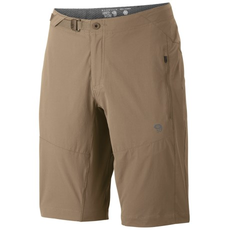 Mountain Hardwear Rifugio Trek Shorts - UPF 50 (For Men) in Black