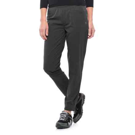 Mountain Hardwear Right Bank Scrambler Pants - UPF 50 (For Women) in Black - Closeouts
