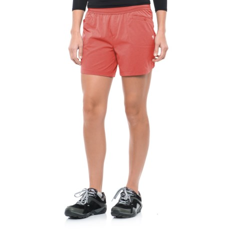 Mountain Hardwear Right Bank Scrambler Shorts - UPF 50 (For Women) in Crab Legs
