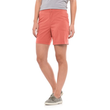 Mountain Hardwear Right Bank Shorts - UPF 50 (For Women) in Crab Legs