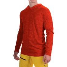 Mountain Hardwear River Gorge Hooded Shirt - UPF 50+, Long Sleeve (For Men) in Fiery Red - Closeouts