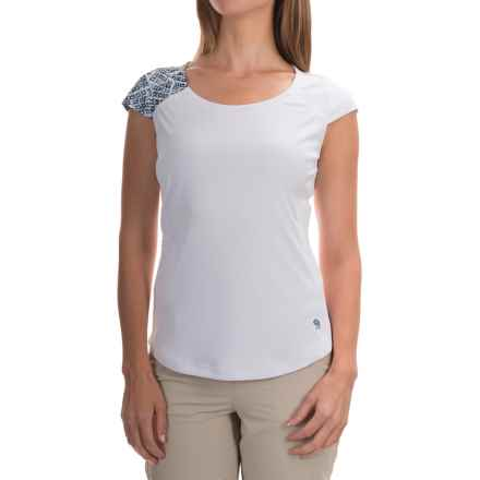 Mountain Hardwear River Gorge T-Shirt - UPF 50+, Short Sleeve (For Women) in White - Closeouts