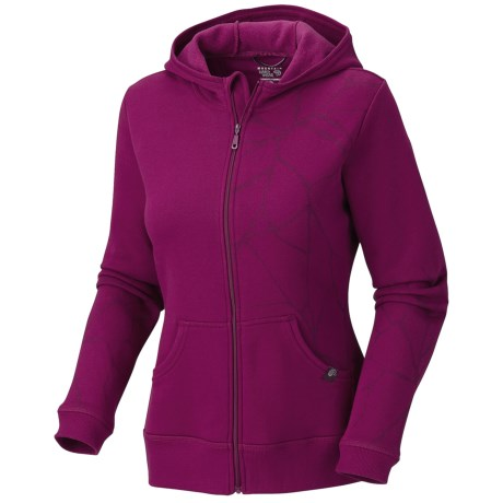 Mountain Hardwear Rocquetta Jacket - Fleece (For Women) in Red Onion