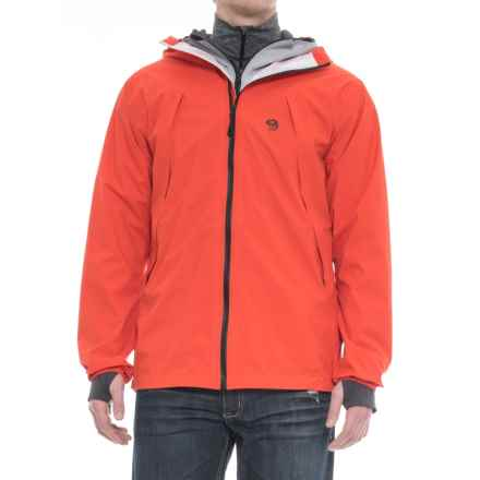Mountain Hardwear Rogue Composite 3-in-1 Jacket - Waterproof, Insulated, RECCO® (For Men) in State Orange - Closeouts
