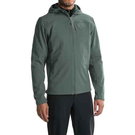 Mountain Hardwear Ruffner Hybrid Jacket (For Men) in Thunderhead Grey - Closeouts