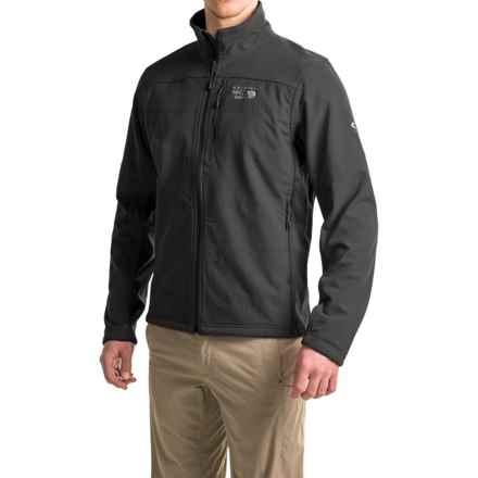 Mountain Hardwear Ruffner Hybrid Jacket - Full Zip (For Men) in Black - Closeouts